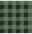 Seamless texture of green plaid vector image