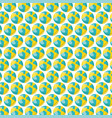 beach balloons plastic pattern background vector image