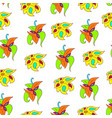 bright abstract floral pattern vector image vector image