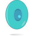 carton blue eye vector image