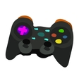 cartoon flat Gamepad icon vector image vector image