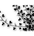climbing vines vector image vector image