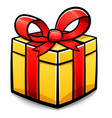 gift box isolated design vector image vector image