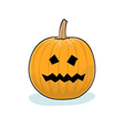 Halloween Terrible Pumpkin vector image vector image