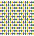 harlequin pattern background vector image