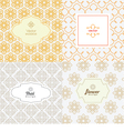line graphic design template vector image vector image