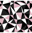 pink seamless triangle vector image vector image