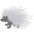 Porcupine vector image