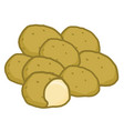 potato isolated vector image vector image