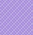 Seamless cross violet shading diagonal pattern vector image vector image