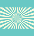 sun rays retro sunburst background vector image vector image