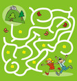 board game labyrinth running kids go to ruin