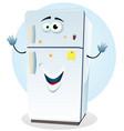fridge character vector image vector image
