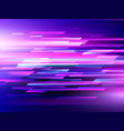 high speed technology background vector image vector image
