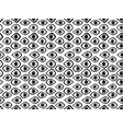 seamless pattern with eyes black and white vector image