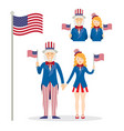 uncle sam men and women