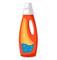 washing detergent bottle vector image