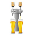 beer equipment 02 vector image vector image