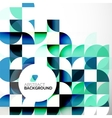 Business Abstract Geometric Template vector image vector image