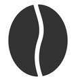coffee bean flat icon vector image vector image