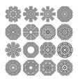 mandala motif vector image