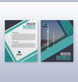 multipurpose modern business cover and flyer vector image vector image