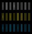 radial gradient tire tracks vector image vector image