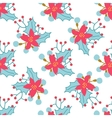 Seamless Christmas and New Year pattern with cute
