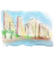 Tel Aviv vector image vector image