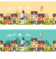 Urban landscape Cityscape vector image vector image