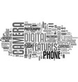 what s new with cellphone cameras text word cloud vector image vector image