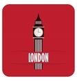 Big Ben icon vector image