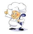 cartoon character chef vector image