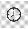 clock icon clock icon clock icon in trendy flat vector image