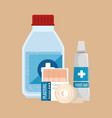 Emergency first aid icons