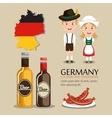 German culture design vector image