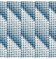 seamless dots halftone vector image