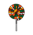 spiral lollipop icon image vector image vector image