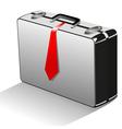suitcase cartoon vector image