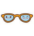 sunglasses fashion lens cute kawaii cartoon vector image vector image