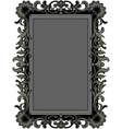 antique black frame vector image