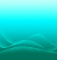 Abstract aqua background with waves of light vector image