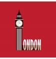 Big Ben icon vector image vector image