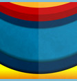 curve background vector image vector image