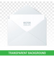envelope on a transparent background vector image vector image