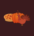 happy thanksgiving design vector image vector image