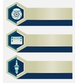 Set of car repair shop banners with icons design vector image vector image