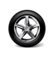 stock realistic car wheels set vector image vector image