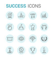 success line icons vector image