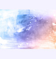 pastel coloured detailed watercolour texture vector image vector image